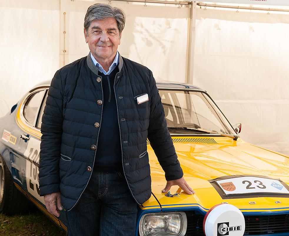 Christian Geisdörfer ehem Rallye Beifahrer von Walter Röhrl