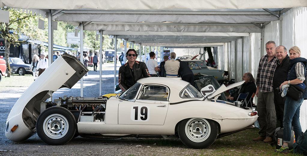 Jaguar  S1 Semilighteight von 1965