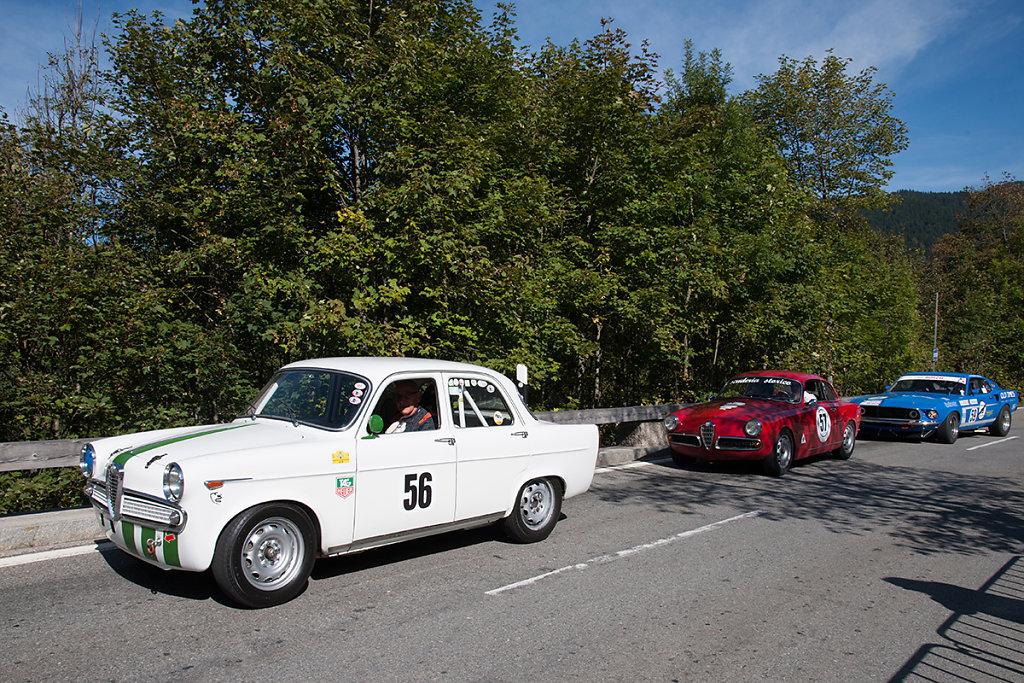 Alfa Romeo Gulietta Ti, Alfa Romeo Gulietta Sprint Veloce, Shelby Cobra 260/289